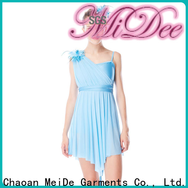 MIDEE customization two piece lyrical dance costumes custom stage