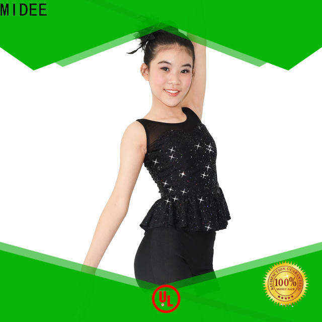 MIDEE white jazz costumes for kids manufacturer show
