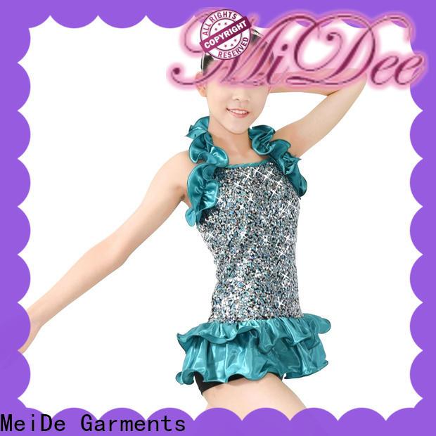 MIDEE odm jazz dance costumes manufacturer show