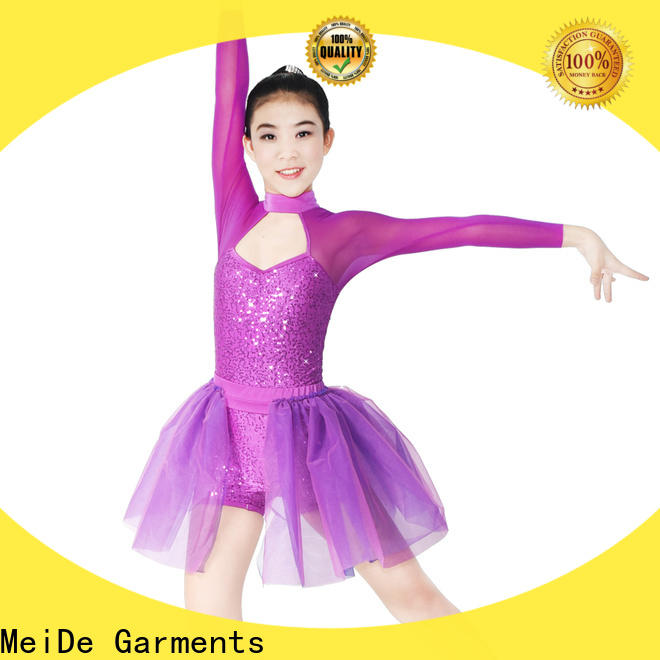 MIDEE modern girls lyrical dance costumes dance clothes stage