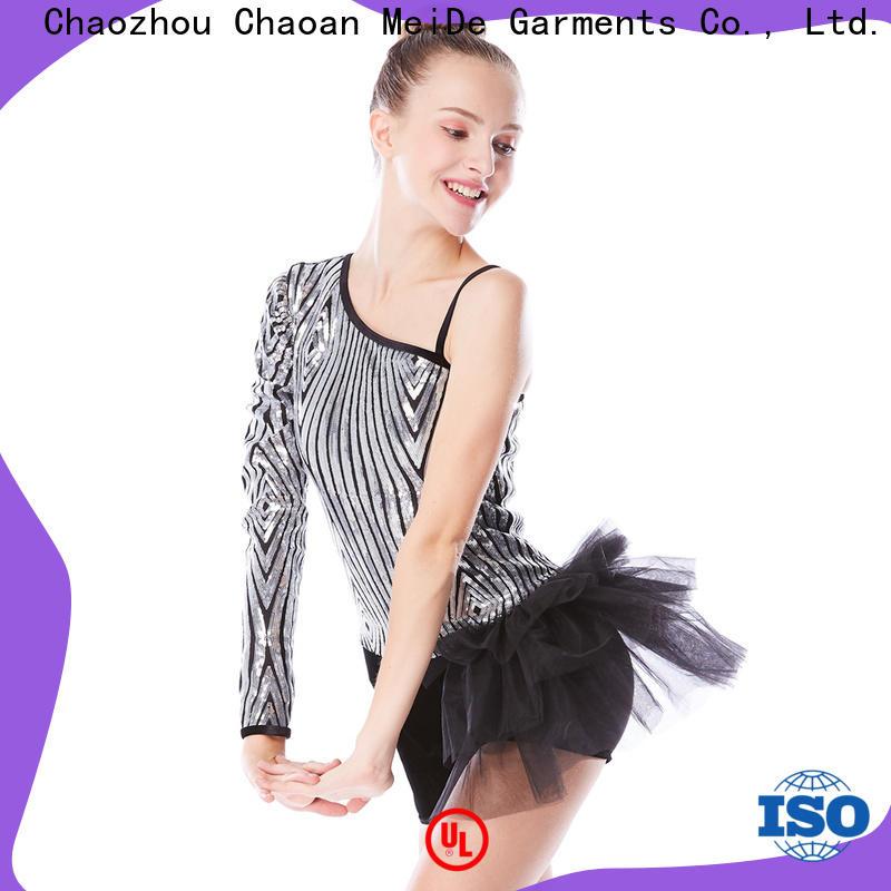 MIDEE anti-wear girls ballet costume bulk production dance school