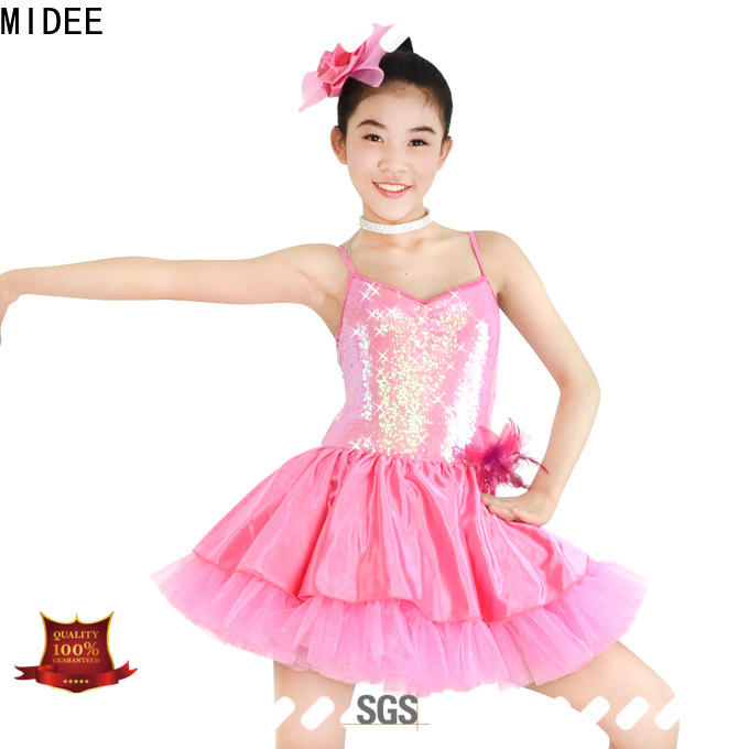 MIDEE highlow ballet dress toddler bulk production show