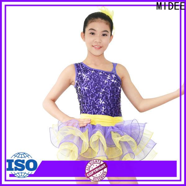 comfortable kids ballet outfit joints bulk production performance