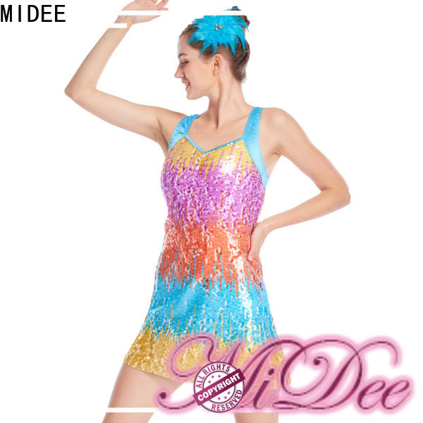 MIDEE jazz jazz leotards for wholesale competition