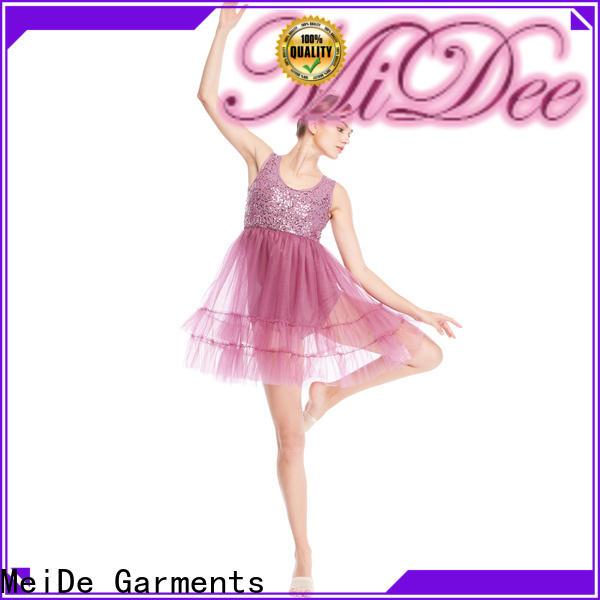 MIDEE spiral lyrical dancewear dance clothes show