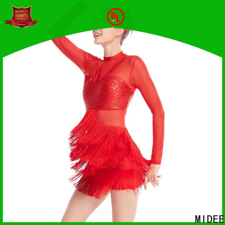 MIDEE professional dress jazz leotards customization performance