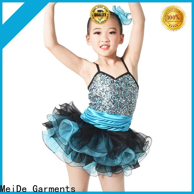 MIDEE adjustable kids ballet clothes odm dance school