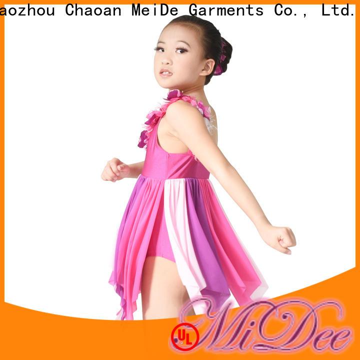 adjustable ballet dance costumes velvet odm show