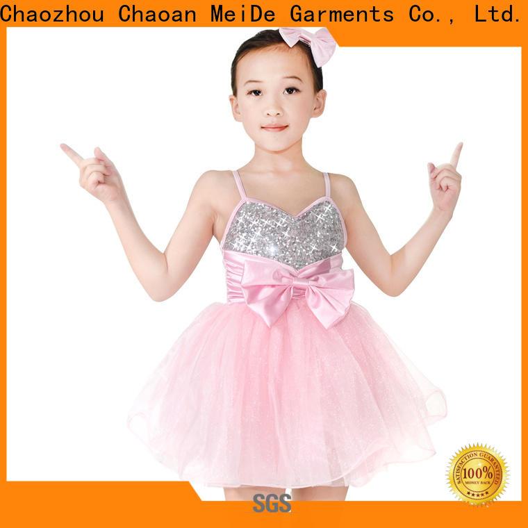 MIDEE fishnet teen dance costumes factory price dance school