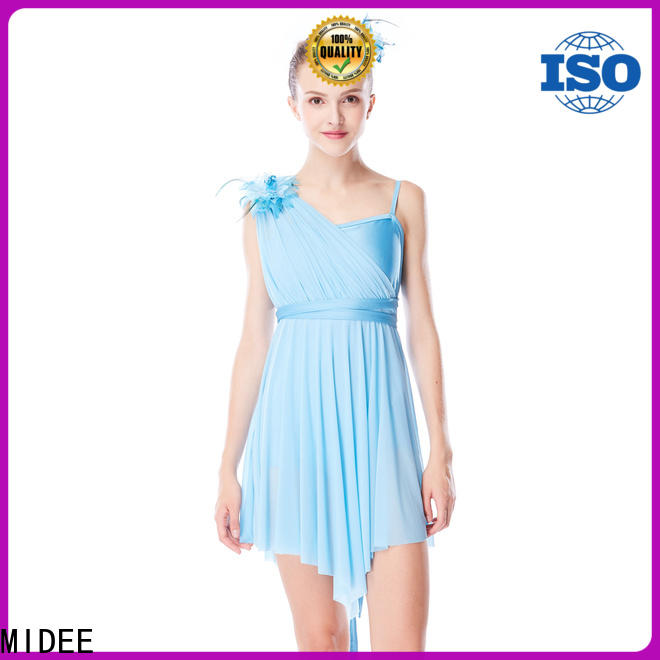 customization lyrical contemporary costumes mesh dance clothes show