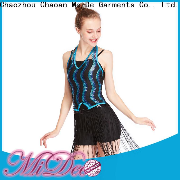 MIDEE odm latin dance costumes manufacturer dance school