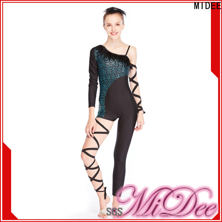 MIDEE fringed latin dance costumes manufacturer competition