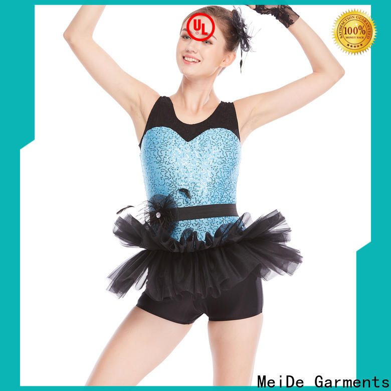 anti-wear ballet leotards lace factory price Stage