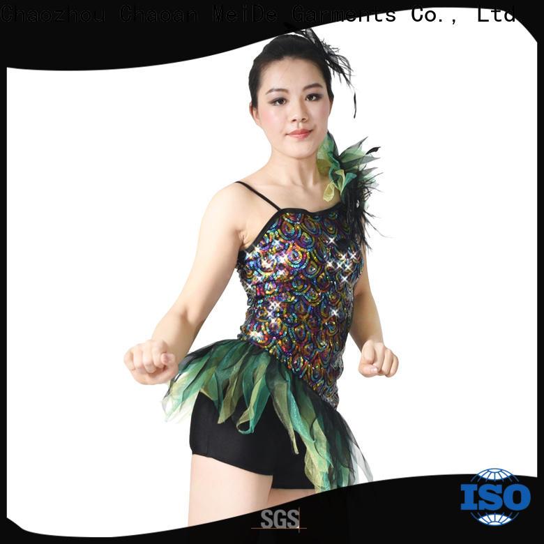 MIDEE top jazz dance dress customization performance