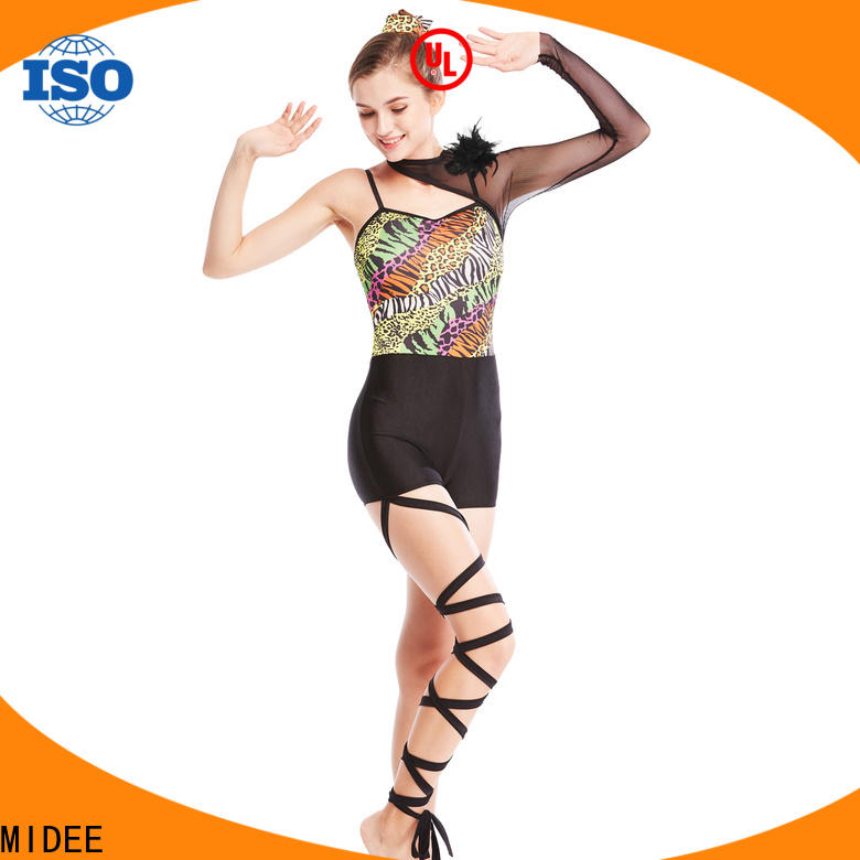 MIDEE odm jazz dance dress for wholesale Stage