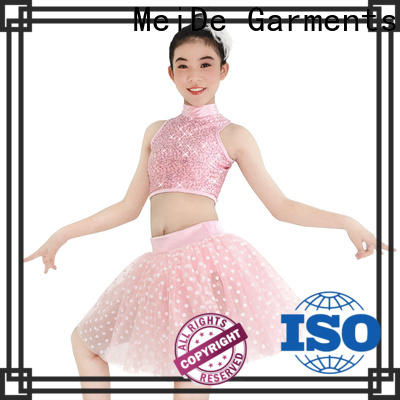 MIDEE adjustable girls ballet costume factory price performance