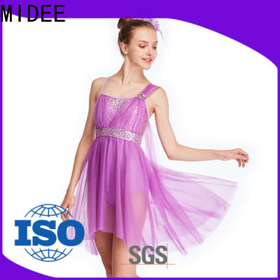 OEM lyrical dance outfits flourish dance clothes show