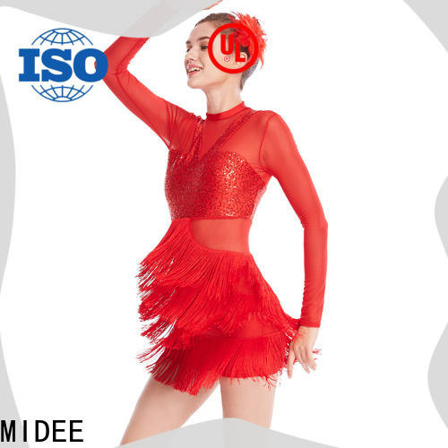 MIDEE professional dress jazz costumes for kids manufacturer performance