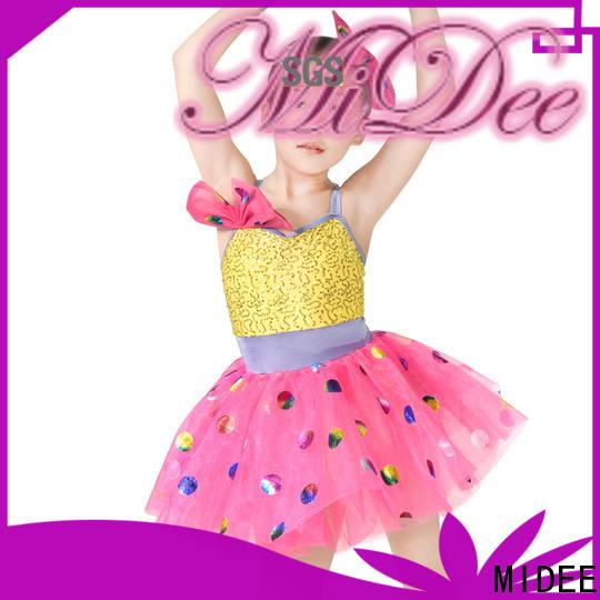 MIDEE stable performance children's dance costumes oem show