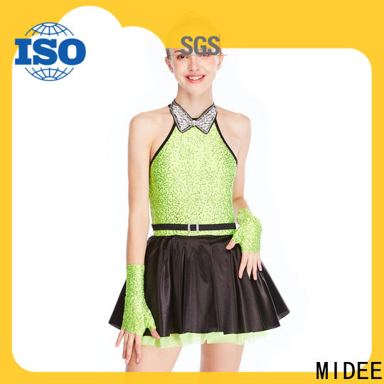 MIDEE sequins jazz costumes for competition for wholesale performance
