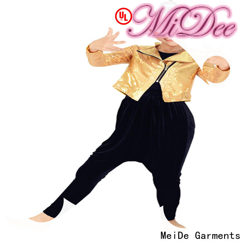 MIDEE professional dress jazz dance dress manufacturer competition