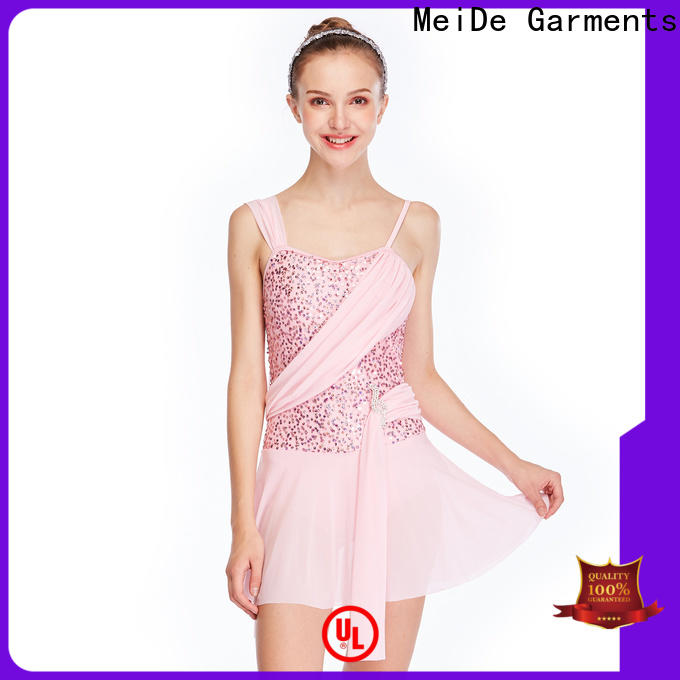 MIDEE OEM lyrical contemporary costumes dance clothes competition