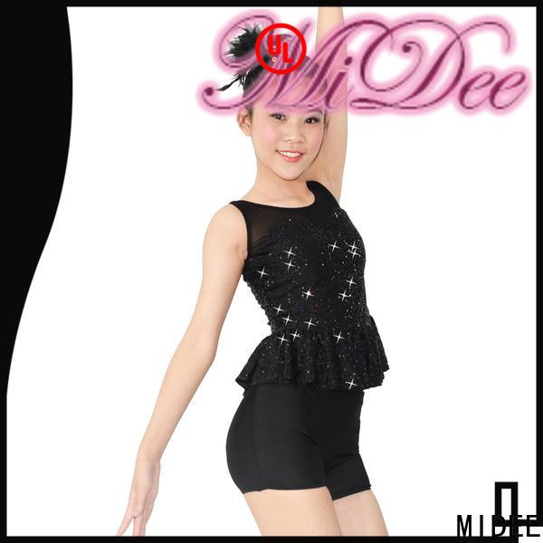 MIDEE mock dance costumes jazz customization dancer