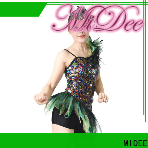 MIDEE fringe latin dance costumes manufacturer competition