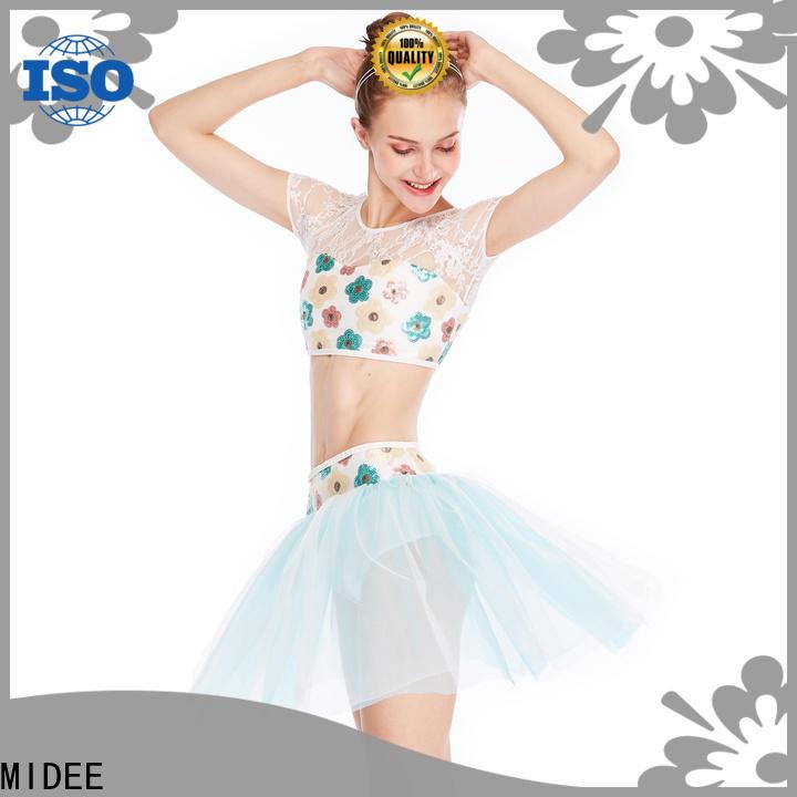 comfortable ballet dancewear black factory price dance school
