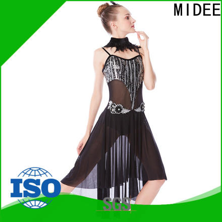 MIDEE modern lyrical contemporary costumes dance clothes stage