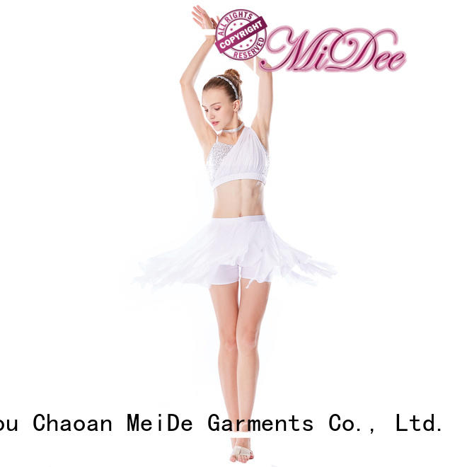 MIDEE customization 2 piece lyrical costume custom performance
