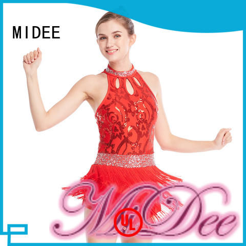 MIDEE floral jazz costumes customization show