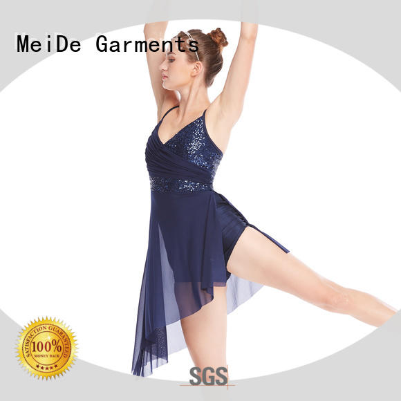 MIDEE dress 2 piece lyrical dance costumes dance clothes stage