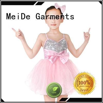 MIDEE jazz girls dance costumes factory price performance