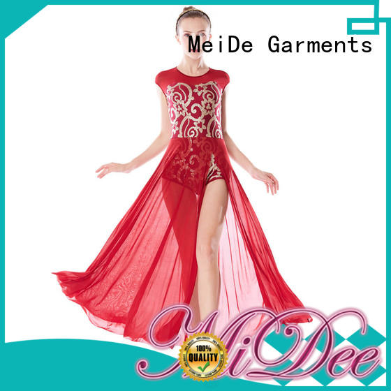 MIDEE customization lyrical dance costumes for competition custom show