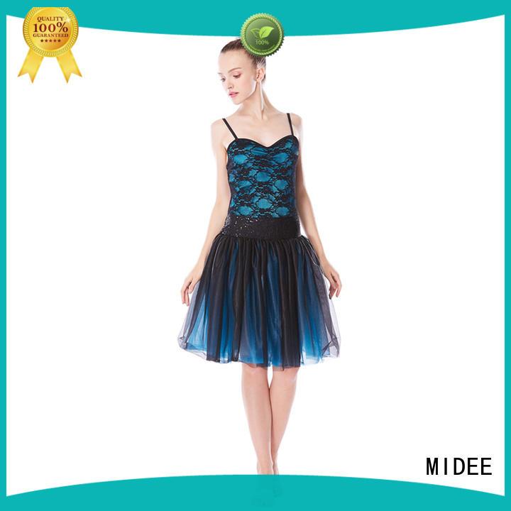 MIDEE adjustable toddler ballet outfit factory price competition