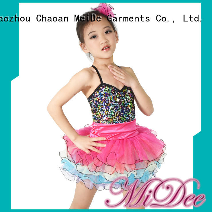 jazz dance costumes for children duet Stage MIDEE