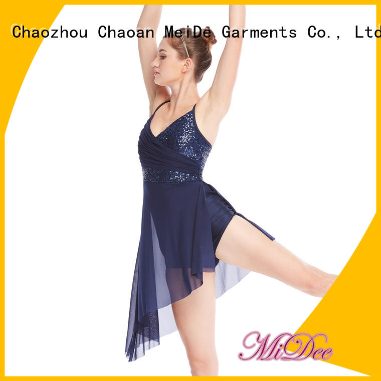 lyrical contemporary dance costumes top show MIDEE
