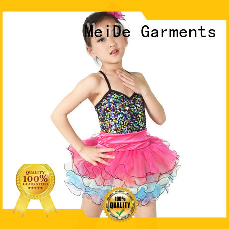 MIDEE stable performance dance costumes children stunning performance