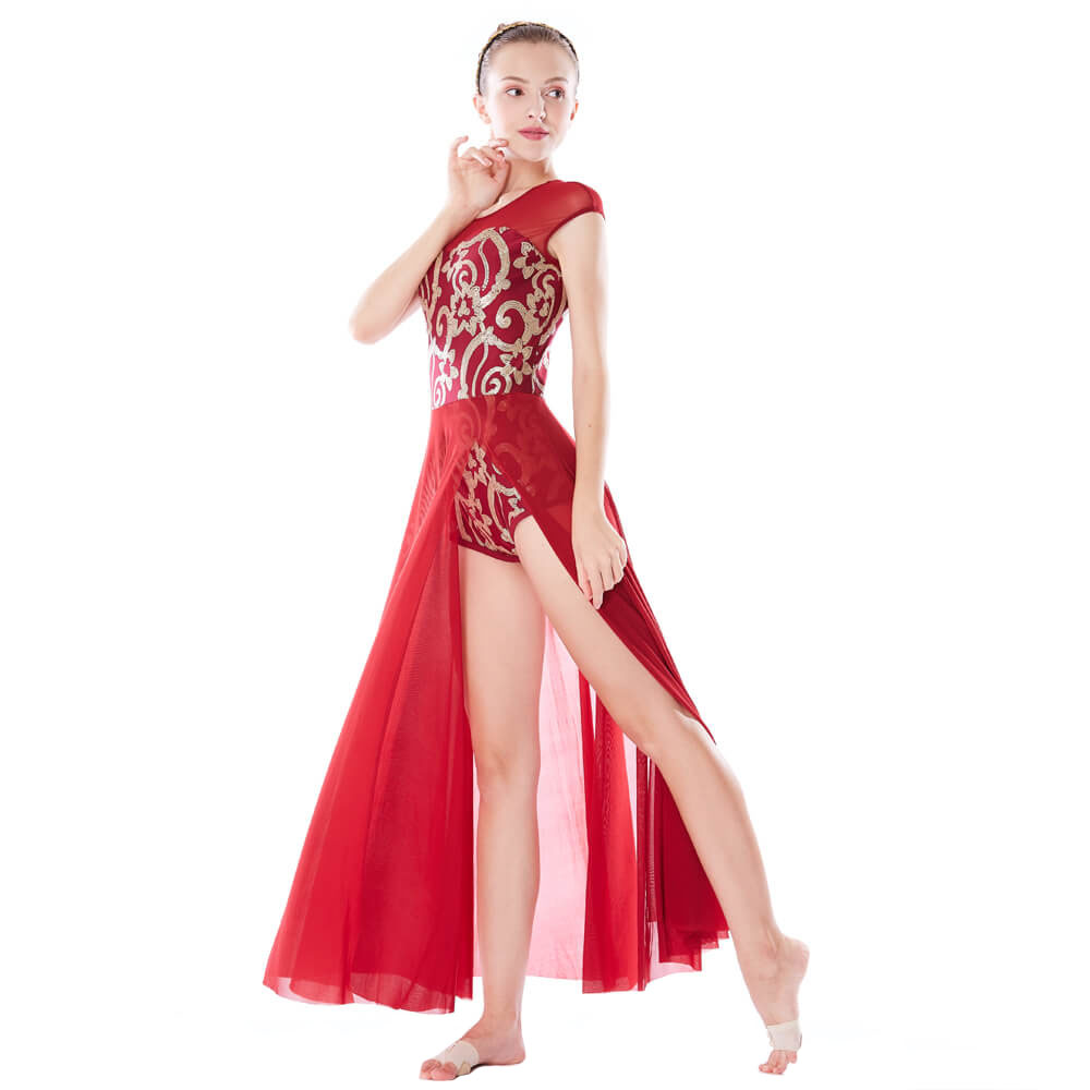 MIDEE spirals lyrical costumes dance clothes performance-1