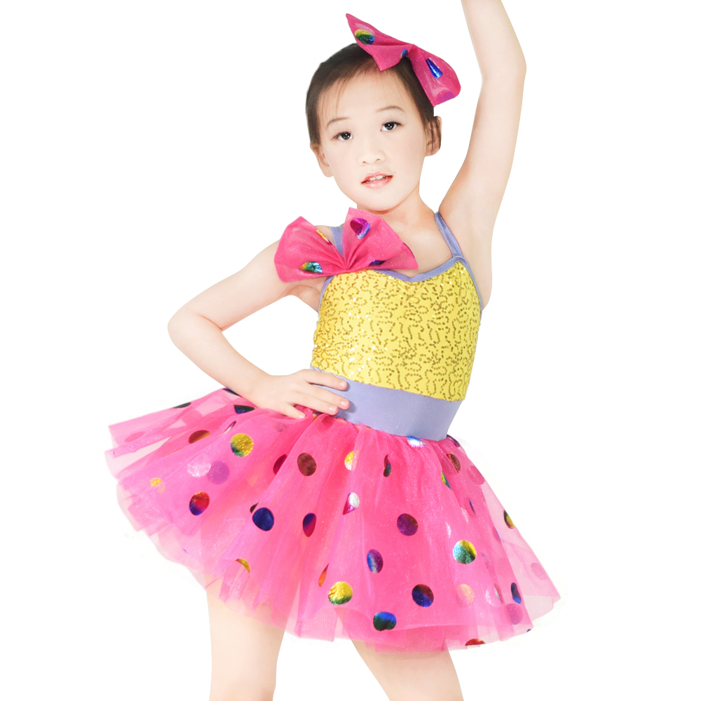MIDEE stable performance children's dance costumes oem show-2
