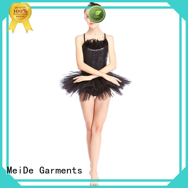 MIDEE anti-wear kids ballet clothes bulk production performance