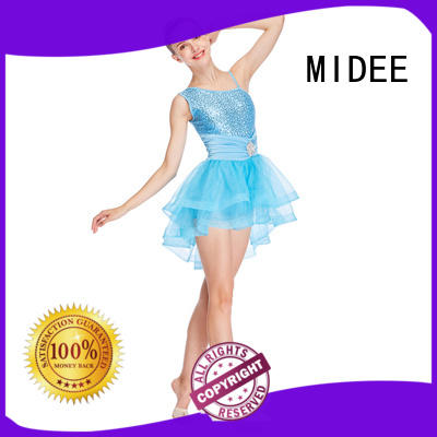 MIDEE waistband kids ballet clothes odm competition
