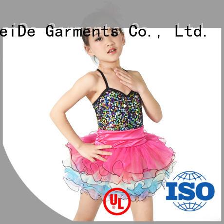 MIDEE fishnet children's dance costumes factory price dance school