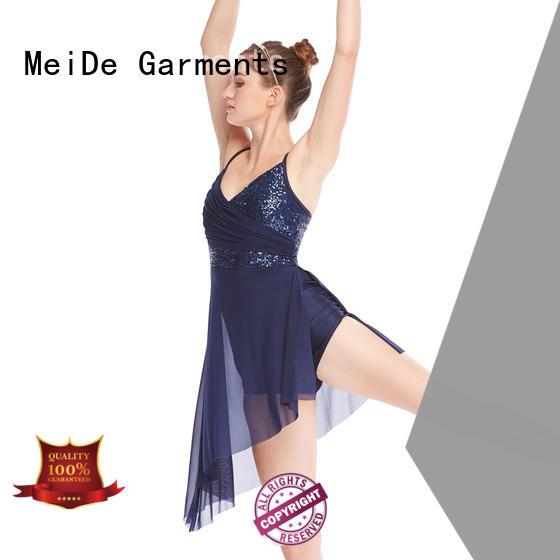 MIDEE customization girls lyrical dance costumes custom competition