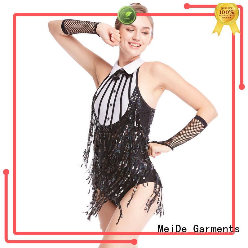 MIDEE professional dress jazz costumes for competition customization Stage