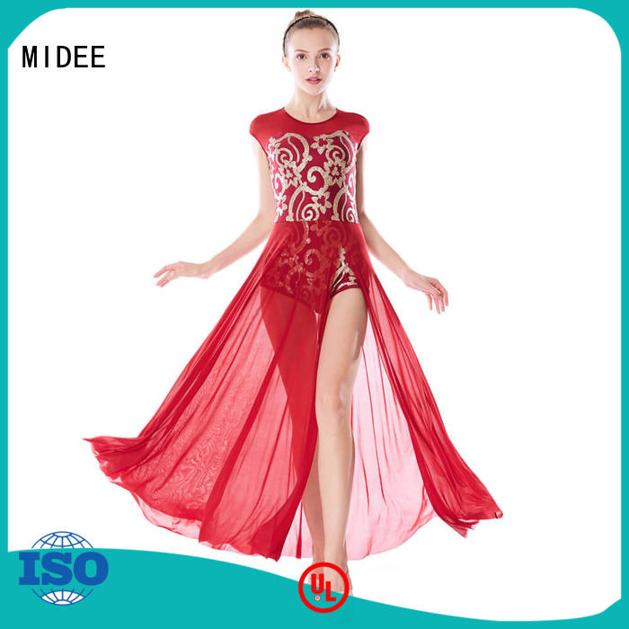 lyrical costumes for dance solo over competition MIDEE