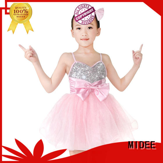 MIDEE dots dance costumes kids performance