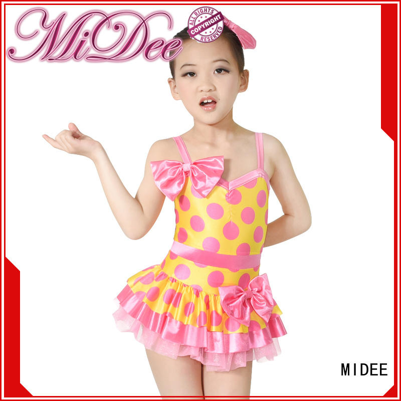 polka teen dance costumes bubbles Stage MIDEE