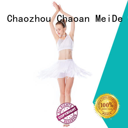 MIDEE full lyrical dance dresses dance clothes performance
